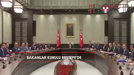 Bakanlar Kurulu, Cumhurbaşkanı Erdoğan başkanlığında toplandı