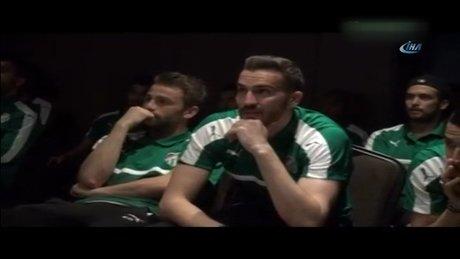 Bursaspor'u ligde tutan video