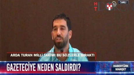 Arda Turan milli takımı bıraktığını açıkladı