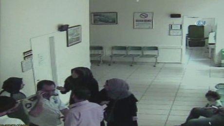 Kadın doktora makasla saldırıp, yerde sürüklediler