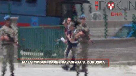 Malatya'daki FETÖ/PDY Davasında 3. duruşma başladı