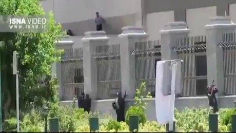 İran Parlamentosu'nda silahlı saldırı