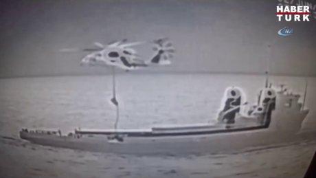 Aksiyon sahnelerini aratmayacak operasyon! 1.5 ton eroin ele geçirildi