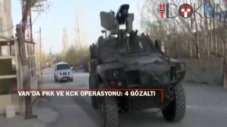 Van'da PKK/KCK operasyonu: 4 gözaltı