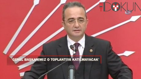 """Tezcan: """"Meclis Başkanının yaptığı davete genel başkanımız katılmayacak"""""""