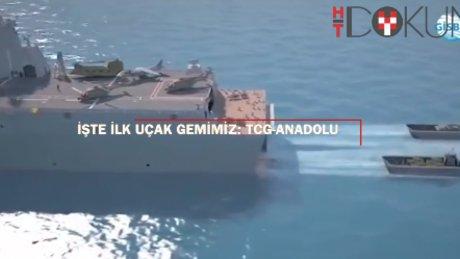 İşte ilk uçak gemimiz: TCG-Anadolu!