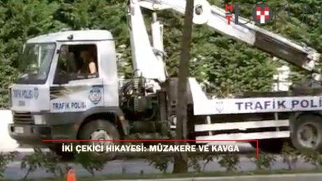 İstanbul'dan iki çekici hikayesi: Müzakere ve kavga!