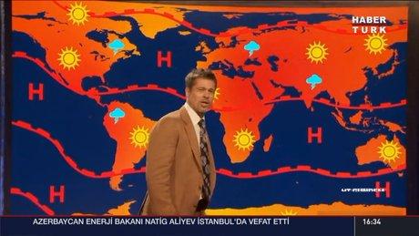 Brad Pitt hava durumu sundu: Artık bir geleceğimiz kalmadı