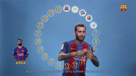 Aleix Vidal takım arkadaşlarını emojilerle anlattı