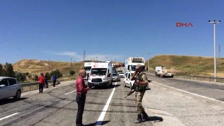 Batman'da Jandarma karakoluna terör saldırısı