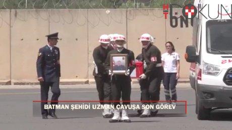Şehit Jandarma Uzman Çavuş Fazlıoğlu'nun cenazesi memleketine gönderildi