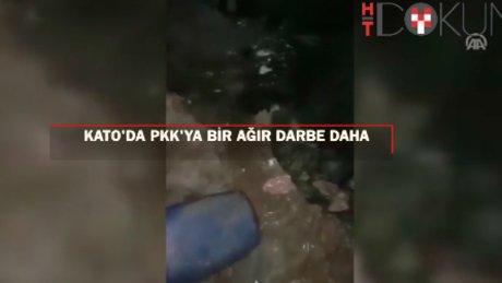 Kato Dağı'nda terör örgütü PKK'ya ağır darbe daha