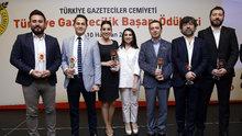 Türkiye Gazeteciler Cemiyeti'nden Ciner Yayın Grubu'na 7 Ödül
