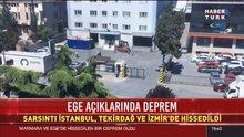SON DAKİKA ! Ege Denizi'nde deprem