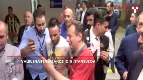 Yeni kanarya Valbuena İstanbul'da