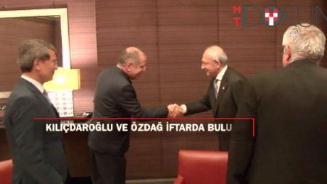 Kılıçdaroğlu, Gaziantep Milletvekili Özdağ ile iftarda bir araya geldi