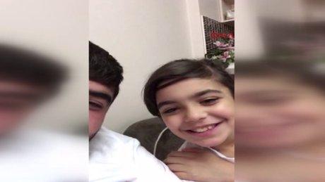 Kaçırılan 10 yaşındaki Ceylin'in babasıyla çekilmiş son görüntüleri