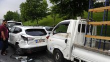 İstanbul'da feci kaza! Şoför direksiyon başında uyuyunca...