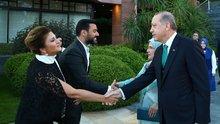 Cumhurbaşkanı Erdoğan sporcu ve sanatçılara iftar verdi