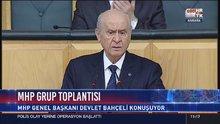 Devlet Bahçeli, partisinin TBMM Grup Toplantısı'nda konuştu