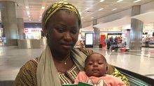 THY uçağında dünyaya gelen Kadiju ile 68 gün sonra yeniden yollar kesişti