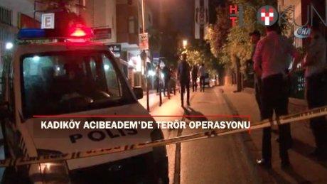 Kadıköy'de Terör Operasyonu: 1 Ölü