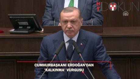 """Erdoğan: """"Uyuyan, yan gelip yatan bir Türkiye yok, çalışan bir Türkiye var"""""""