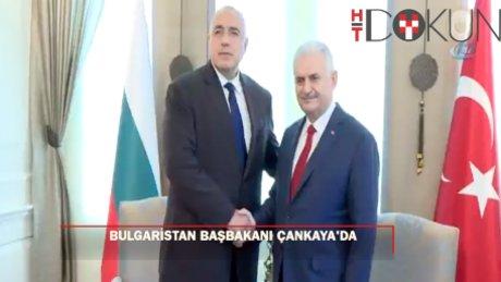 Başbakan Yıldırım, Bulgaristan Başbakanı Borisov'u kabul etti
