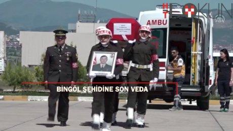 Bingöl şehidi Ramazan Aydoğan'a son veda