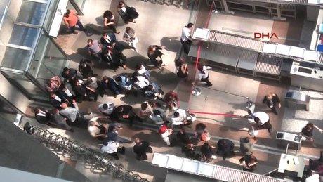 İstanbul Adalet Sarayı'nda gerginlik