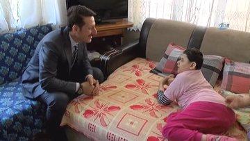 34 yıldır yatalak kızına bakan annenin tek isteği gerçekleşti