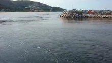 İzmir Karaburun'da depremden sonra tsunami yaşanmış