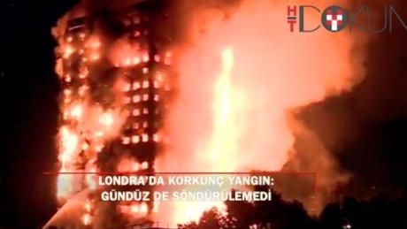 Londra'da 27 katlı apartmanda korkunç yangın: Ölü sayısı artabilir