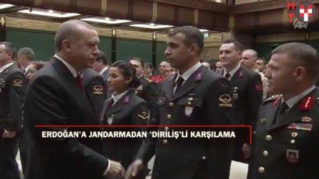"""Erdoğan: """"Jandarmalarımızın kahramanlığınını terörle mücadelde görüyoruz"""""""
