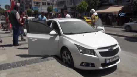 Eski kocasının arabasını yaktı