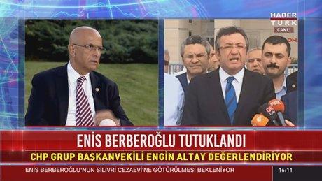 CHP'den Enis Berberoğlu kararı için açıklama