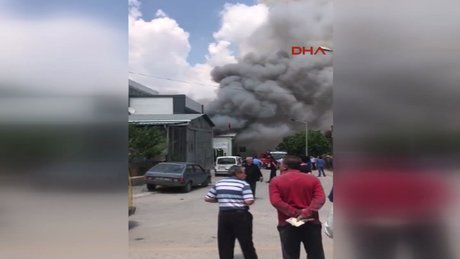 SON DAKİKA! Ankara İvedik Sanayi Bölgesi'nde patlama