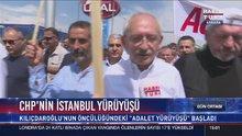 Kılıçdaroğlu, 'Adalet Yürüyüşü'nün dördüncü saatinde Habertürk TV 'ye konuştu