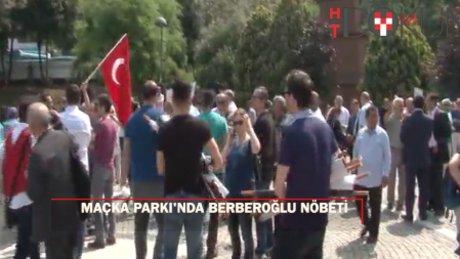 CHP'liler Maçka'da 'Adalet Nöbeti' başlattı