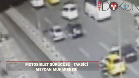Trafikte ölümüne kavga kamerada!