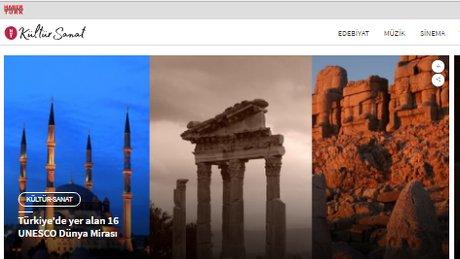 Haberturk.com Kültür-Sanat sayfası yeni yüzüyle karşınızda!