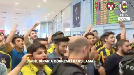 Nabil Dirar Fenerbahçe için İstanbul'da