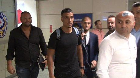 Nabil Dirar İstanbul'a geldi