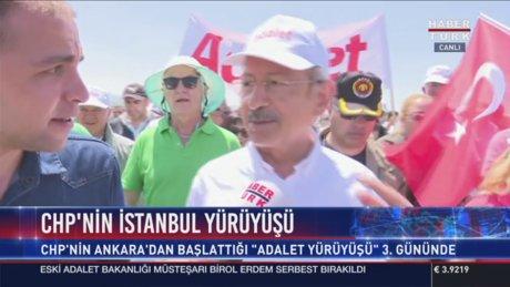 Kemal Kılıçdaroğlu Adalet Yürüşü'nün 3. gününde