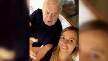 Aslışah Alkoçlar'ın dedesiyle videosunu paylaştı