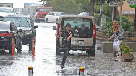 İstanbul'da kuvvetli yağış