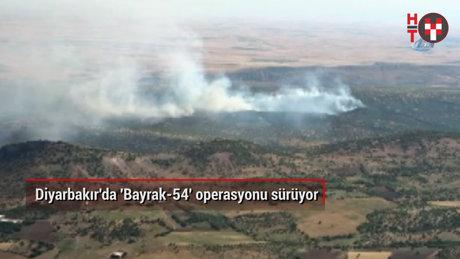 Diyarbakır'da 'Bayrak-54' operasyonu sürüyor
