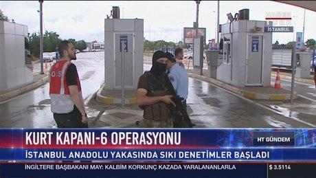 """İstanbul'da """"Kurt Kapanı-6"""" operasyonu"""