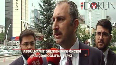 "AK Parti Genel Sekreteri Gül: ""FETÖ'nün sözcülüğü Kılıçdaroğlu'na kalmış"
