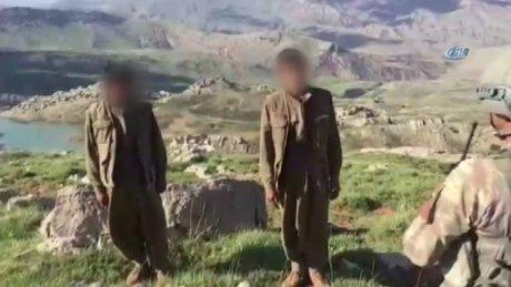 Pervari'de teslim olan terörist: 'Zorla dağa götürüldüm'